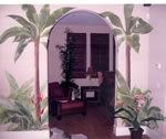 ENTRANCE  Tropical Mural