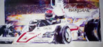 MARCONI RACING  Mural on Canvas